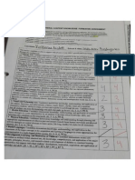 elementary general content completed assessment form for student teaching