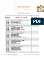 140559521 Application Project Titles