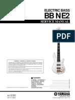 Manual baixo Yamaha BB-NE2 Bass