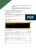Snort en modo sniffer sobre CentOS Linux 7
