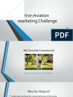 textron aviation marketing challenge