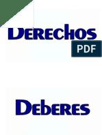 Letra Deberes