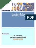 Monetary Policy - Slides