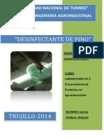 Pino Desinfectante