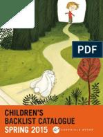 Abrams & Chronicle Books Spring 2015 Kids Backlist Catalog Final