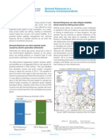 Demand Response Fact Sheet 3 DR in a Resource Constrained World