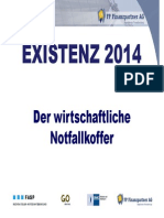 Existenz 2014 Der Wirtschaftliche Notfallkoffer. Juristische Und Unternehmerisc