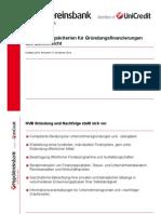 Existenz 2014 Entscheidungskriterien Fuer Gruendungsfinanzierungen Aus Bankensi