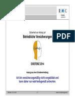 Existenz 2014 Sicherheit Fuer Unternehmen Von Anfang an Welche Versicherungen s2