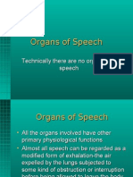 LING-04.PPT Organs of Speech Dr. David F. Maas