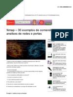 Nmap – 30 Exemplos de Comandos Para Analises de Redes e Portas _ Hacks