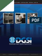 DGSI Materials Testing Catalog 2009-10