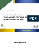 Convenios Interadministrativos Secretaria Hacienda Bogota