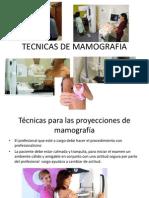 Tecnicas de Mamografia