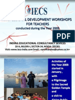 IECS Professional Development of Teachers-REPORT 2009.