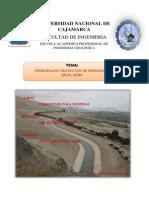 Proyectos de Irrigacion en El Peru