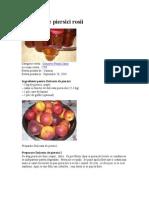Dulceata de Piersici Rosii