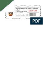 tabasco coupon