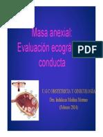 Manejo Masas Anexiales 2014 Ppt