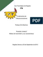 Unidad 2 Fundamento de Telecomunicaciones