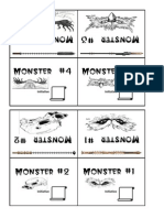 Monster Initiative Cards