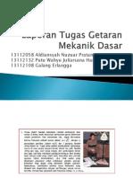 Laporan Tugas Getaran Mekanik Dasar (13112058,13112108,13112132)