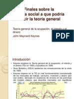 13_Notas Finales Sobre La Filosofía Social Teoría Gral. Keynes