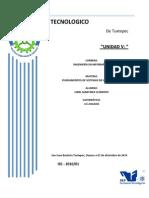 UNIDAD 5 gestion de proyectos de sistemas