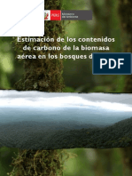 Estimacion de los contenidos de carbono de la biomasa aerea de los bosques del Peru.pdf