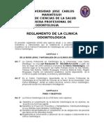 Reglamento de La Clínica Odontológica 2012