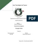 Protocolo de Investigacion Energia Solar