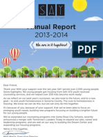 SAY 13-14 Annual Report Ltr