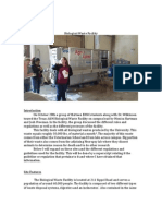 biological waste facility report