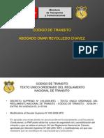 CODIGO DE TRANSITO PER