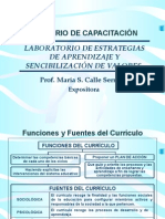 APOYO AL AREA DE CURRICULUM