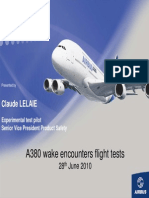 Airbus A380 Wake Test