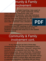 Community and Family Involvement