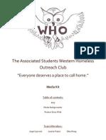 Western Homeless Outreach Media Kit