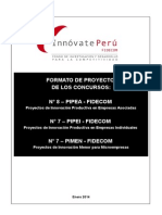 Modelo Formulacion Proyecto