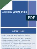 A b c Del Ultrasonido