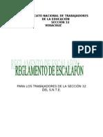 85208389 Reglamento de Escalafon