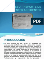 Sso - 300 Reporte de Incidentes Accidentes