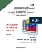 Trabajo Ejecucion de Creditos Fiscales