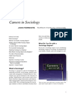 Careers in Sociology
