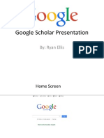 google scholar presentation