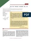 Antimicrobial Flavonoids From Artocarpus Anisophyllus Miq.