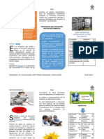 Folleto de Gestion Documental