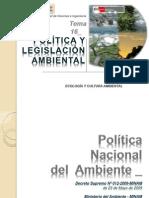 Política y Legislación Ambiental Perú