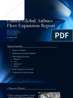united global airlines fleet expansion report