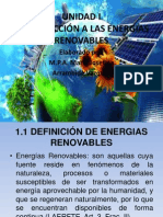 Introducción a Las Energias Renovables